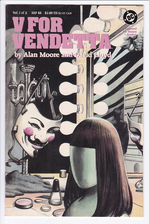 V For Vendetta #1 - 1st Printing