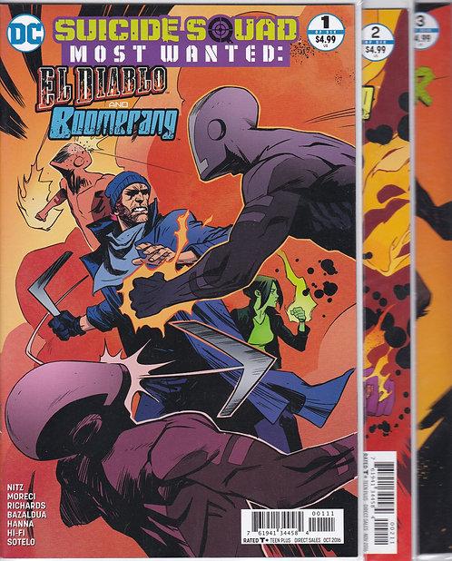 Suicide Squad: Most Wanted #1-6 - El Diablo & Boomerang