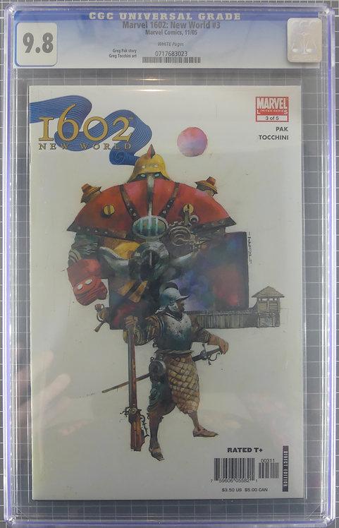 Marvel 1602: New World #3 CGC 9.8