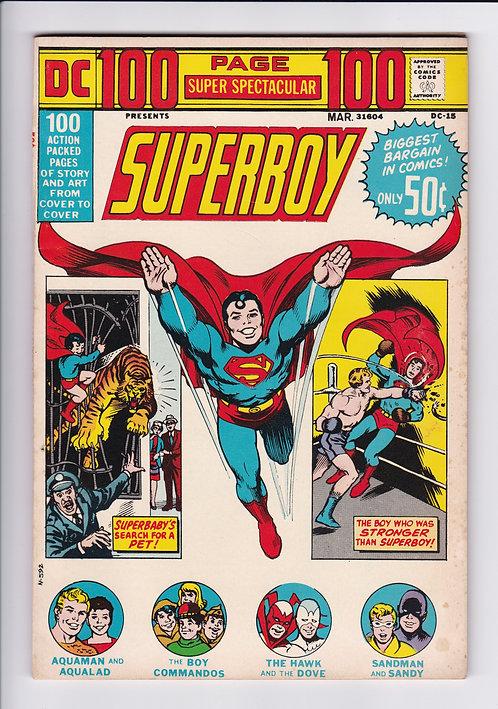 DC 100 Page Super Spectacular #15 - Featuring Superboy, Aquaman & More! (1973)