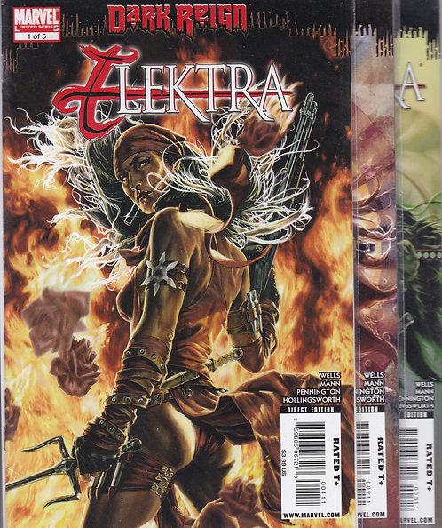 Elektra: Dark Reign #1-5 - Featuring Wolverine