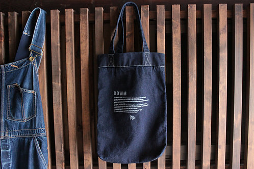 type BTS denim tote bag 3color