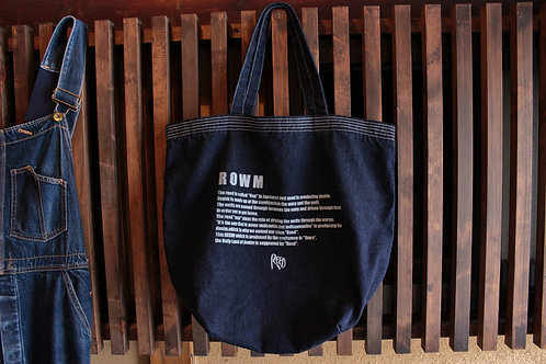 type BT denim tote bag 3color