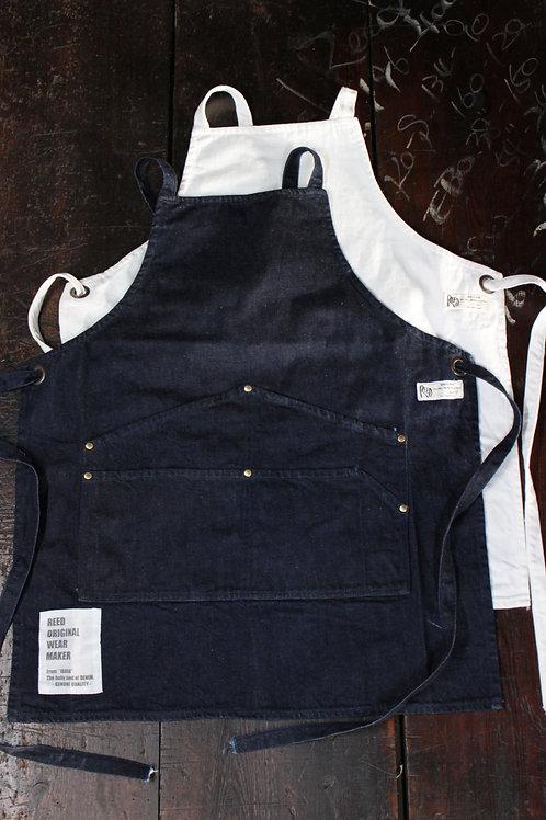 type BAP    almighty apron      indigo/white