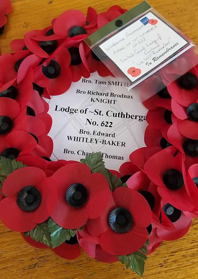 Wimborne Freemasons Remember the Fallen
