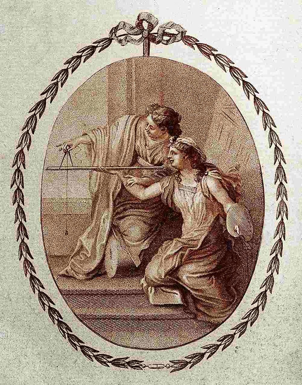 Gravure anglaise | 1786