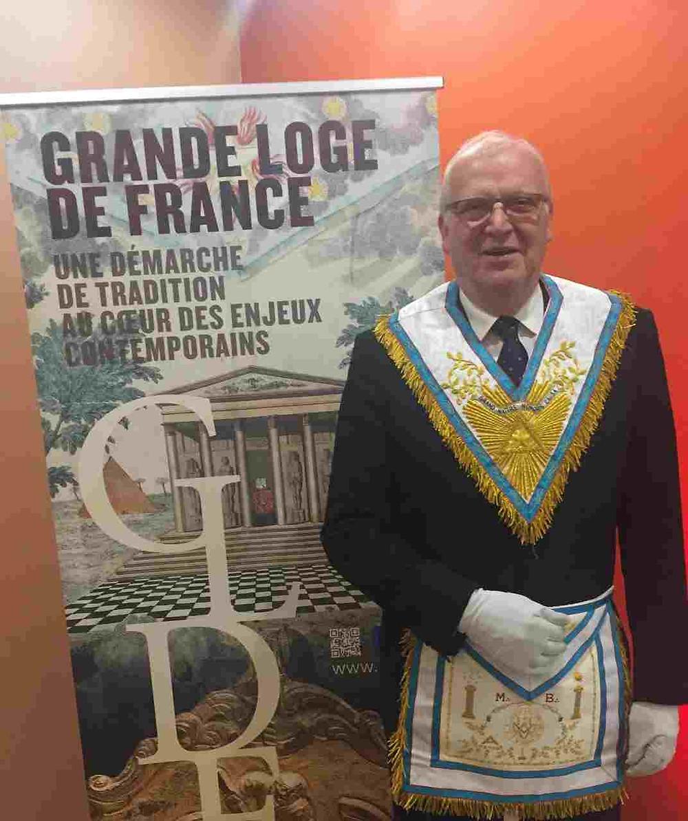 Perry Wiley é o novo Grão-Mestre «Honoris Causa» da Grande Loja da França