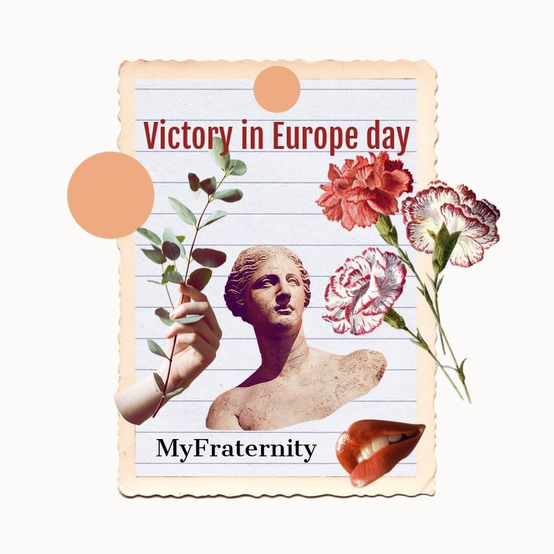 My Fraternity commemorates Victory in Europe Day