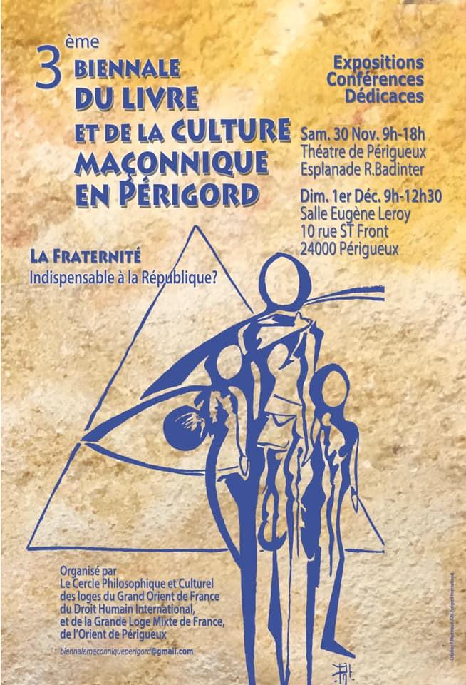 3ème Biennale du Livre et de la Culture Maçonnique en Périgord