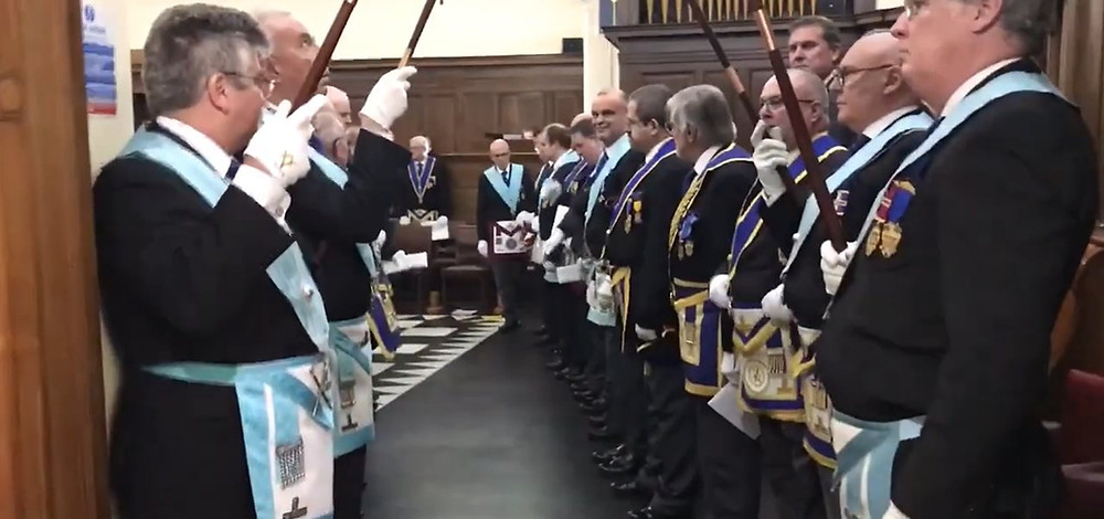 Freemasonry - This video was recorded directly after the Consecration of Sussex Rugby Lodge 9990 in March 2020