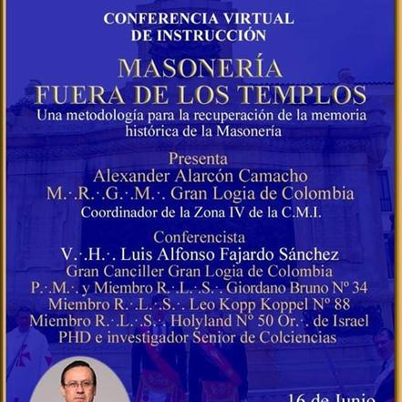 Masonería fuera de los Templos | Conferencia de Instrucción | Colombia