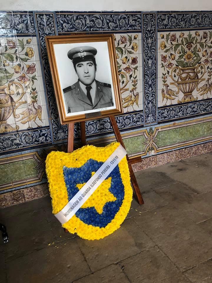 Uma justa homenagem ao Sr. Ildefonso Teixeira Pereira, organizada pela PSP e Embaixador de Israel