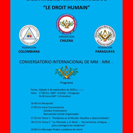 Jurisdicción Chilena-Colombiana-Paraguaya | Le Droit Humain - El Derecho Humano |Conversatorio