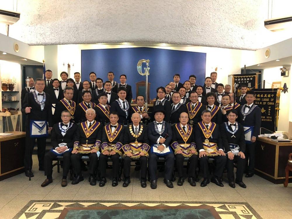 Freemasonry - 2020.12.04 - 總會拜訪申廬- Grand Visiting Sun Lodge | Photos