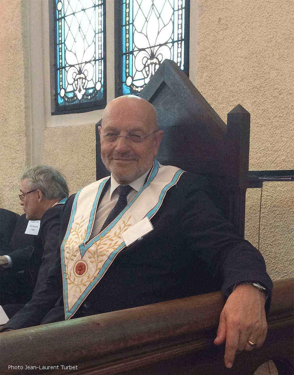 Pierre-Marie ADAM foi eleito Grão-Mestre da GLdF