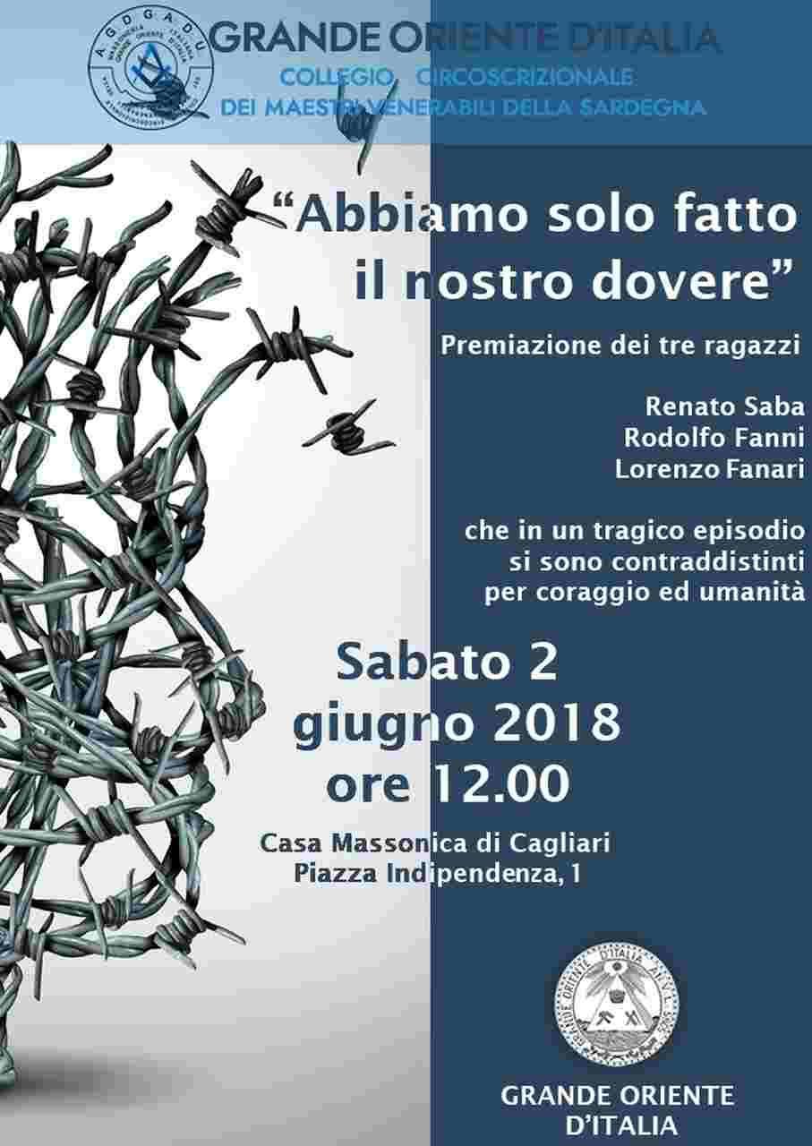 Jovens italianos recebem comenda e prémios do Grande Oriente de Itália