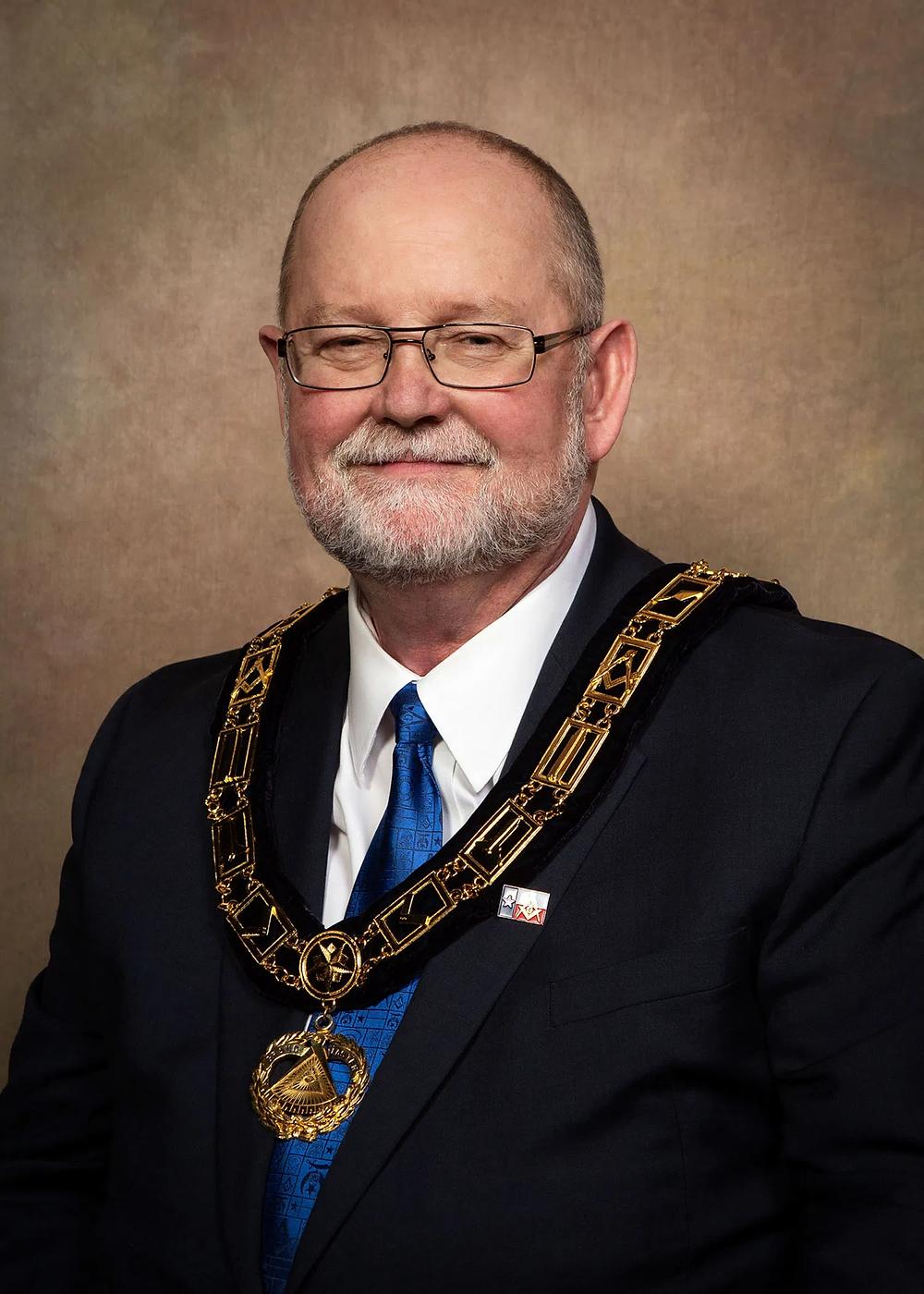 Freemasonry - Paul D. Underwood - Grand Master