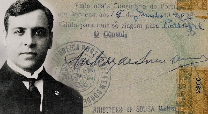 03 de Abril de 1954: Morre Aristides de Sousa Mendes, um grande português ! Memórias