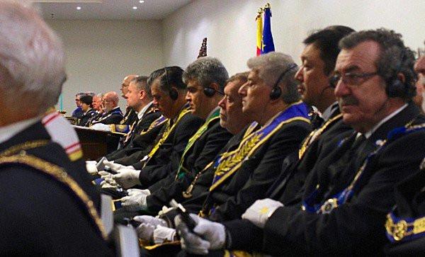 Assembleia Geral da Grande Loja de Espanha com 31 delegações internacionais