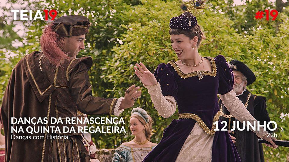 Danças da Renascença na Quinta da Regaleira // Sexta-feira   22H00 às 22H30