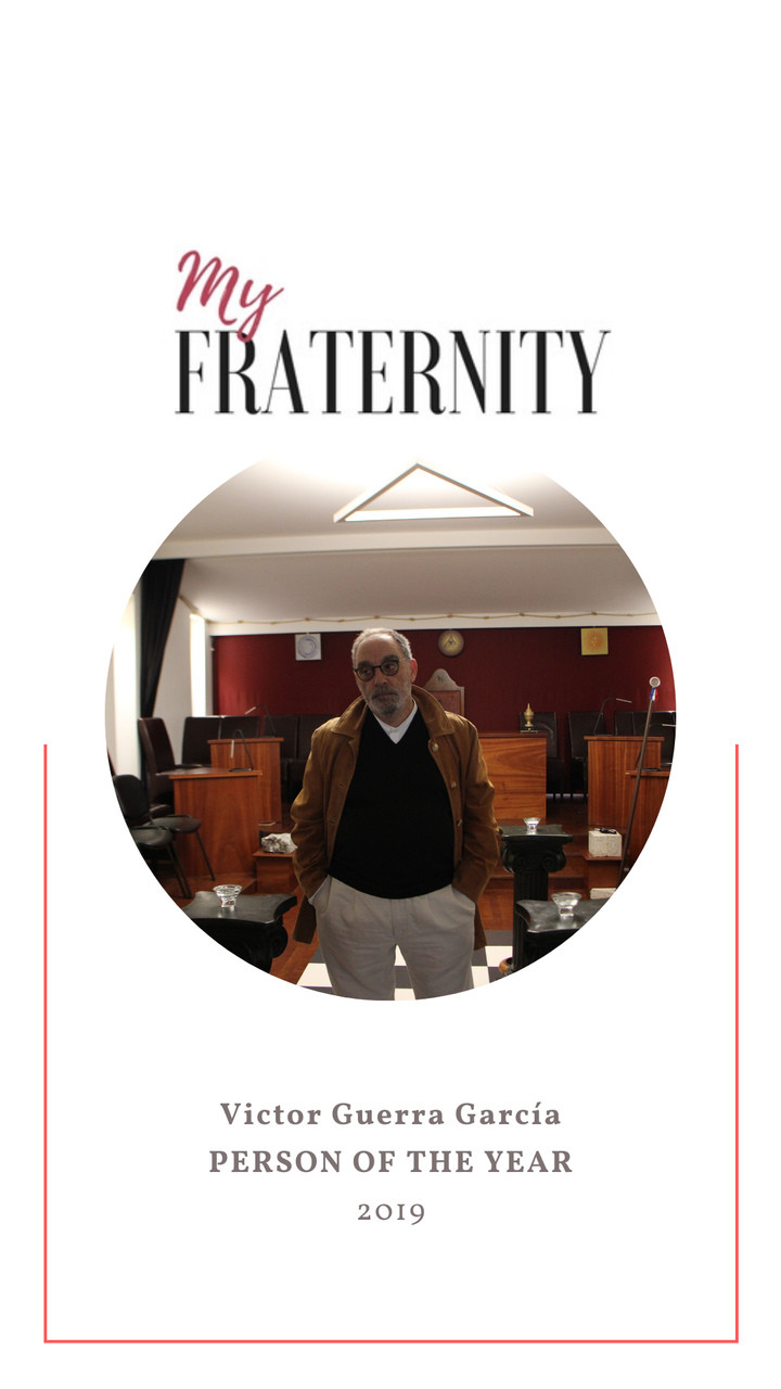 PERSON OF THE YEAR    2019    My Fraternity   Victor Guerra García