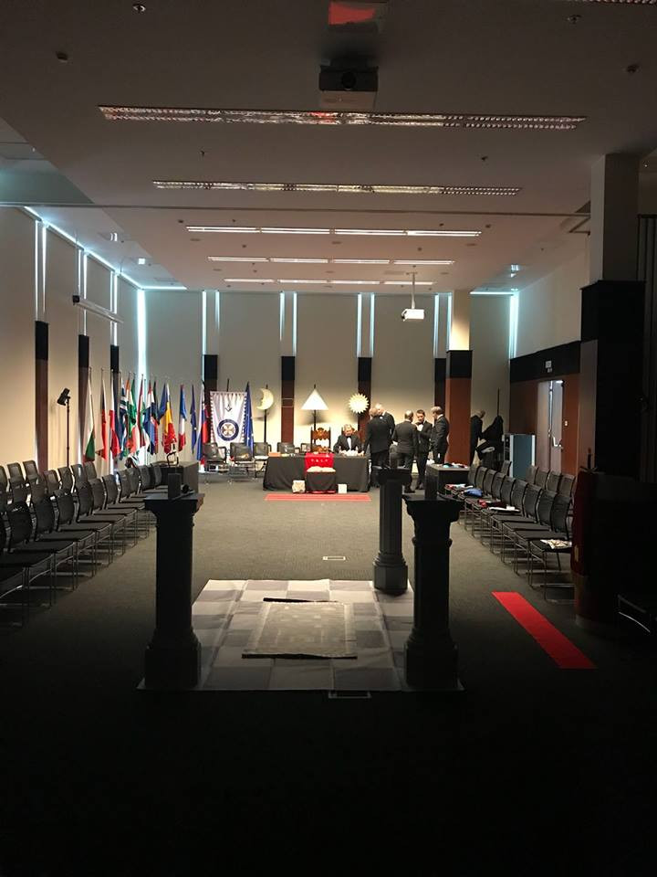 Grande Loja Nacional Portuguesa presente na Grande Loja Regular da Eslovénia
