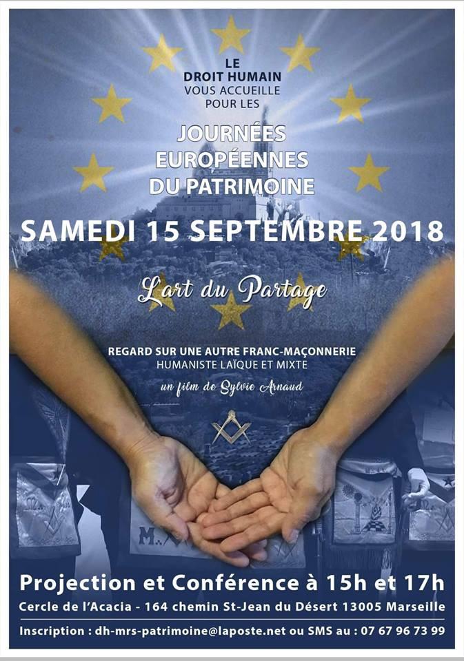 Journées Européennes du Patrimoine | Le Droit Humain