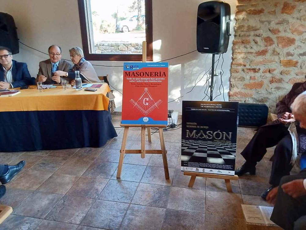 Ayer presentamos por primera vez el libro sobre la masonería | Imágenes