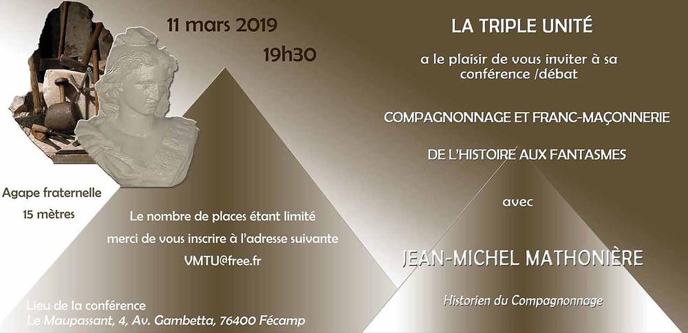 La Triple Unité | Compagnonnage et Franc-Maçonnerie