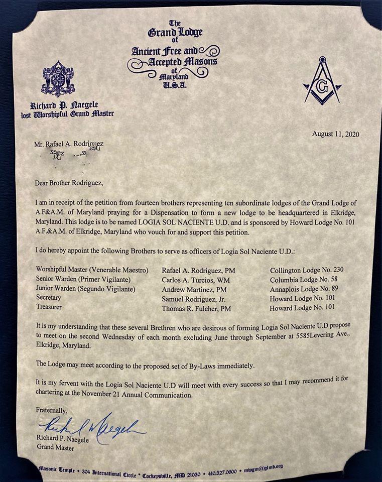 Grand Lodge of Maryland