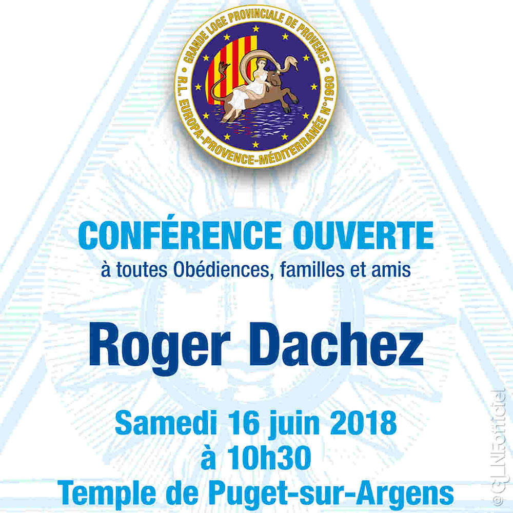 Conférence | Roger Dachez | 16.06.2018