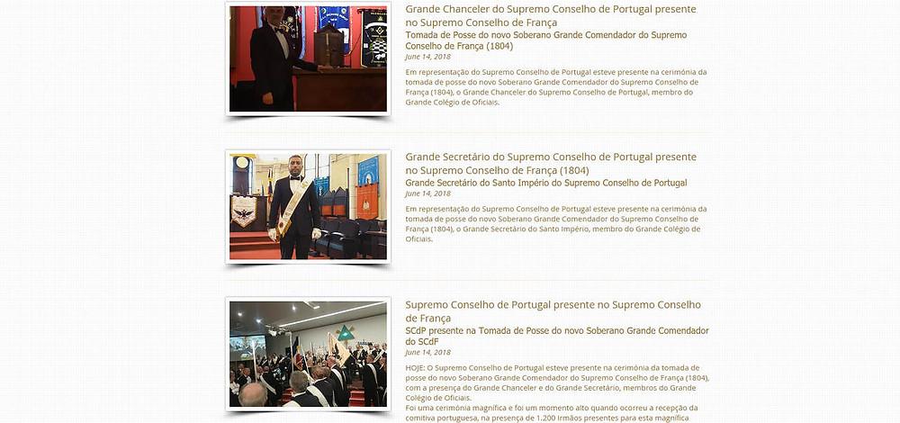 Supremo Conselho de Portugal esteve presente no Supremo Conselho de França | 15.06.2018