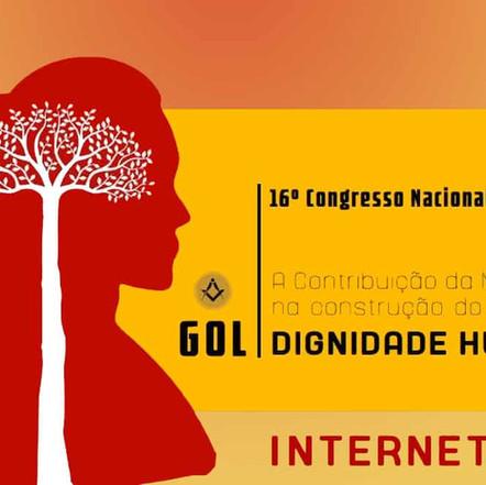 O GOL (Grande Oriente Lusitano) decidiu a realização do seu 16º Congresso, via virtual
