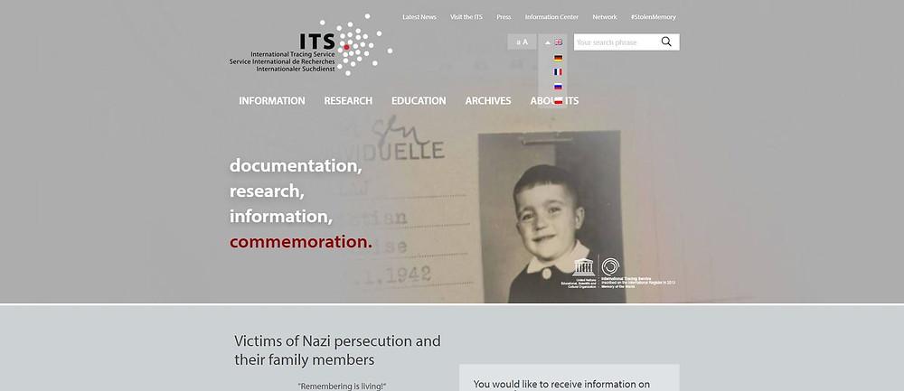"""Arquivo sobre vítimas do Holocausto disponibilizado """"online"""""""