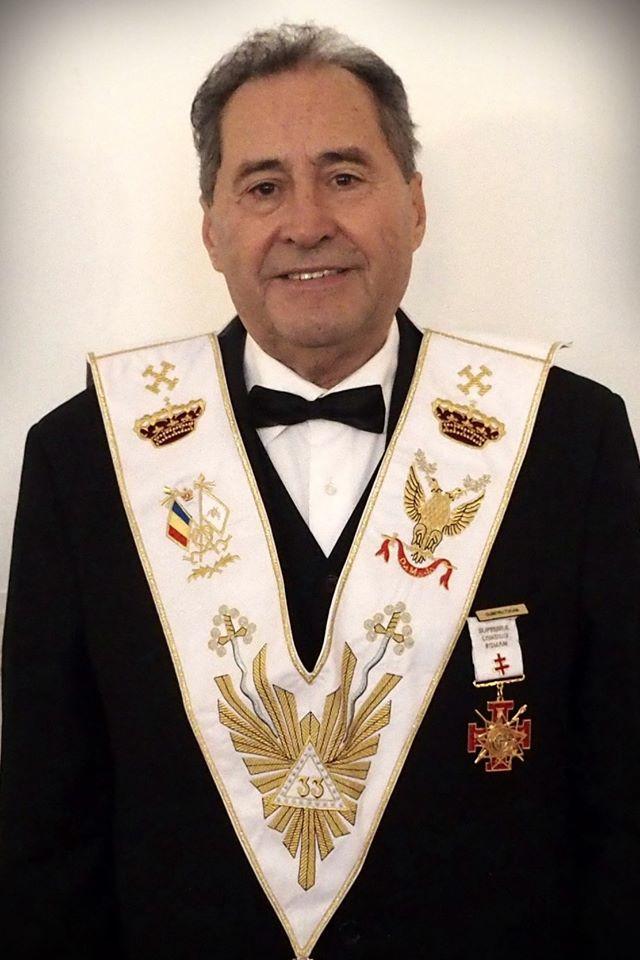 Oriente Eterno   Muito Ilustre Irmão Dumitru TUCAN, 33º, do Supremo Conselho da Roménia