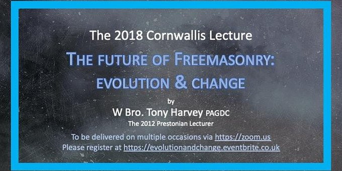 The future of Freemasonry: evolution & change | ONLINE | 17th June, will be at 6.00 pm La Paz / 11.0