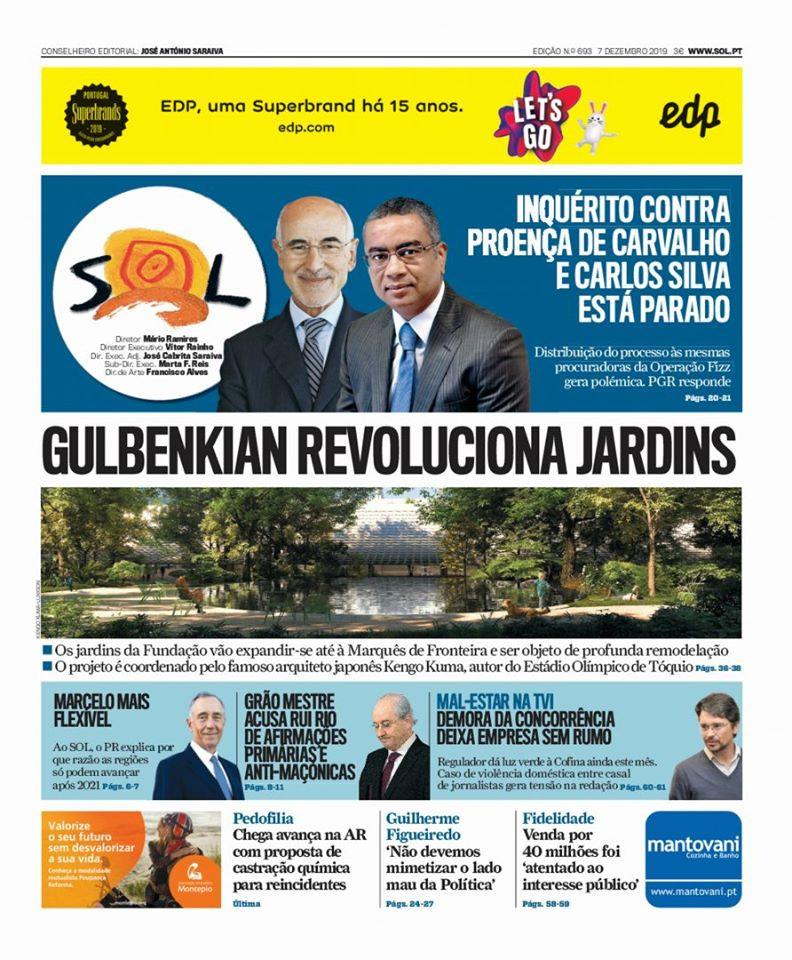 «Grão-Mestre acusa Rui Rio de afirmações primárias e anti-maçónicas» | Jornal I | 07.12.2019
