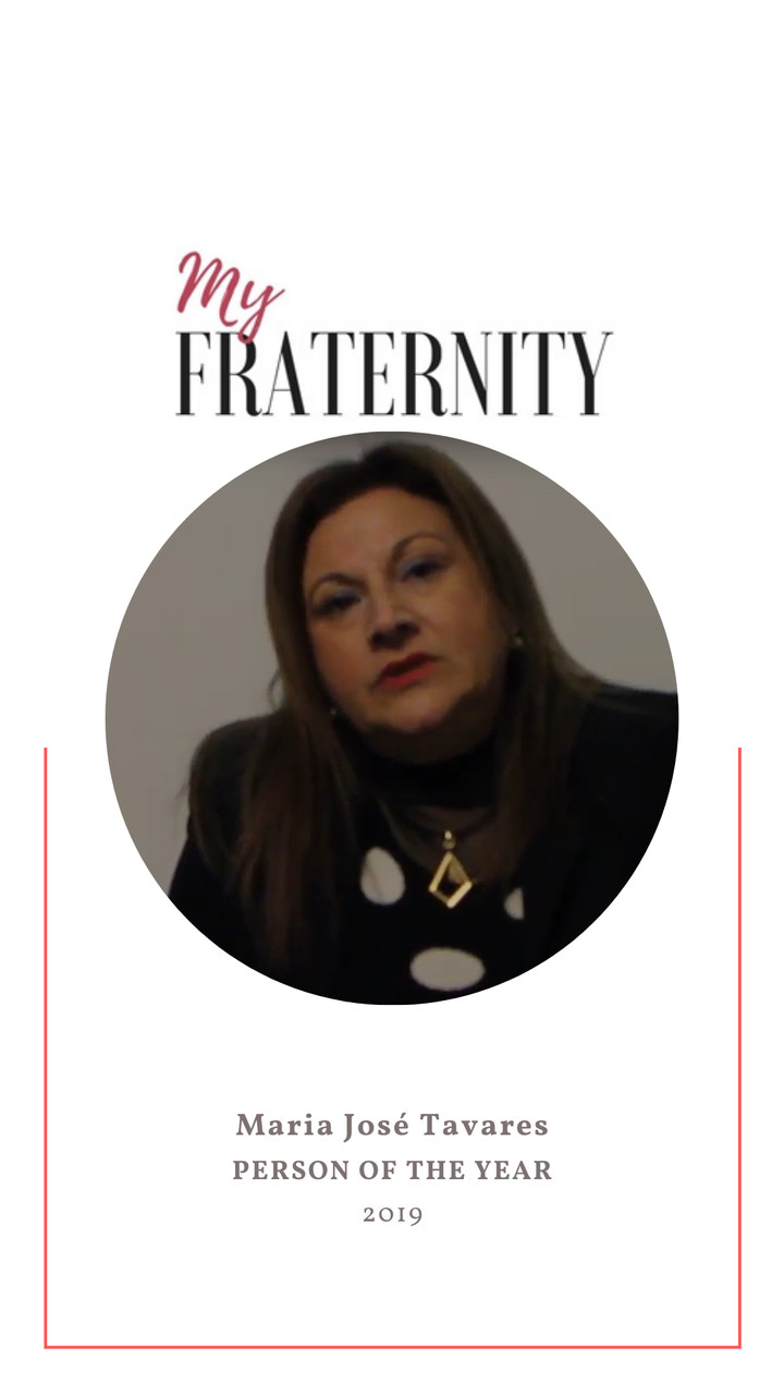 PERSON OF THE YEAR  | 2019 || My Fraternity | MARIA JOSÉ TAVARES