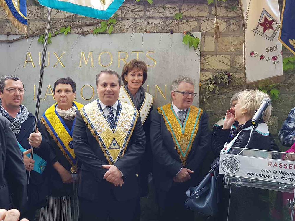 Edouard HABRANT réélu Grand Maître