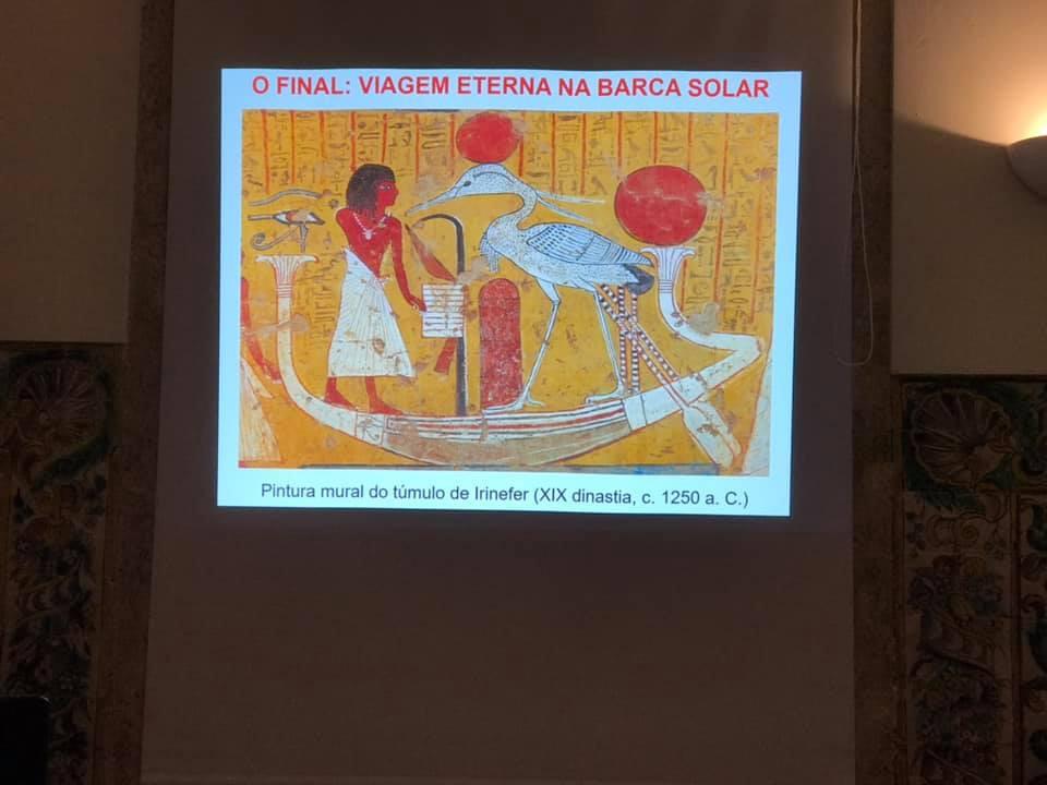 «Olhares sobre o Antigo Egipto - A Eternidade», por Dr. Luís Araújo | GOL | 06.04.2019 | Imagens