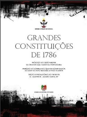 As GRANDES CONSTITUIÇÕES DE 1786