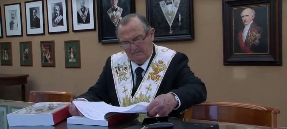 Deuxième vidéo du Souverain Grand Commandeur du Suprême Conseil de France du Rite Écossais Ancien et Accepté, Claude COLLIN, 33e.