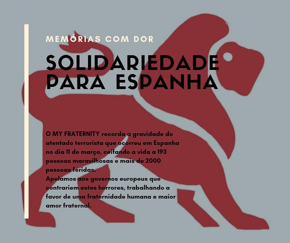 Solidariedade com Espanha