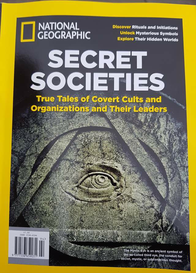 National Geographic Secret Societies: True Tales of Covert Cults and Organizations and Their Leaders (2017)