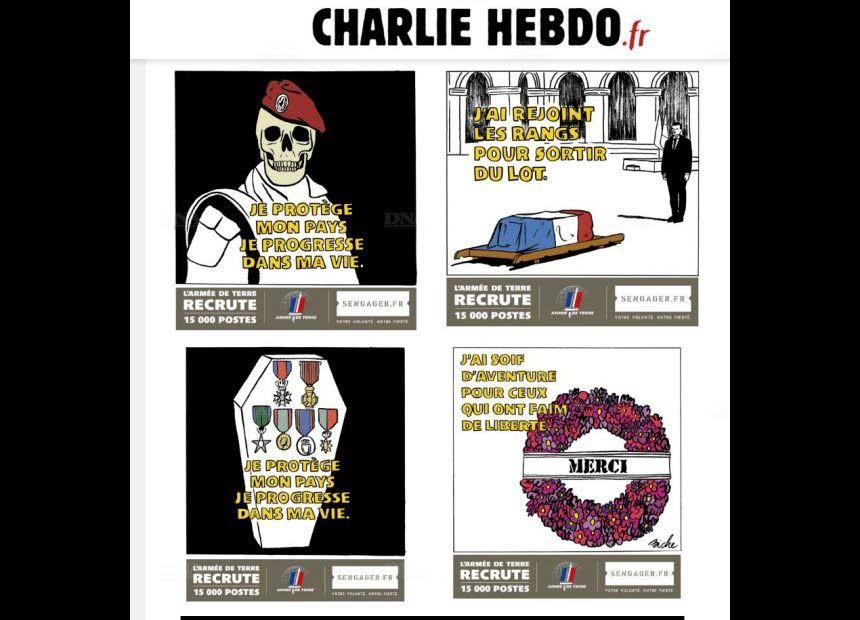 Este cartoon não representa o sentimento do My Fraternity | Charlie Hebdo