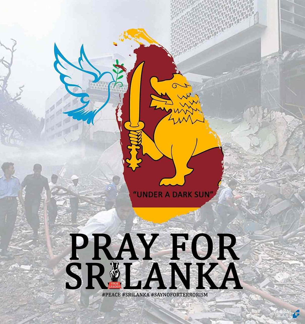 Terrible act of terror 6 blasts reported in the city of Colombo, #sirilanka