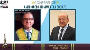 Conférence qui ouvrira le 17e Salon Maçonnique Du Livre De Paris | GODF|DH | 16.11.2019