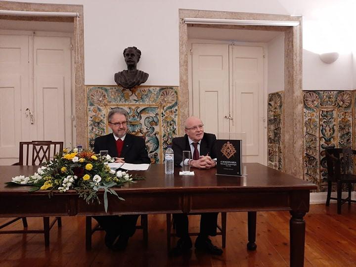 Professor Doutor António Ventura, no Grémio Lusitano