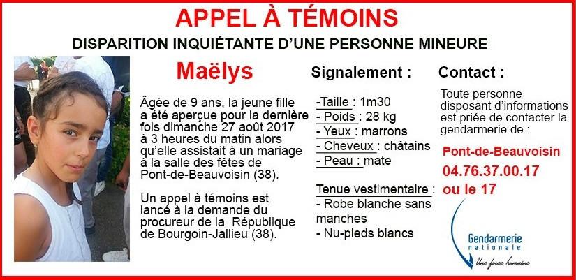 APELO: AJUDA!!!!   Criança de origem portuguesa desaparecida em França