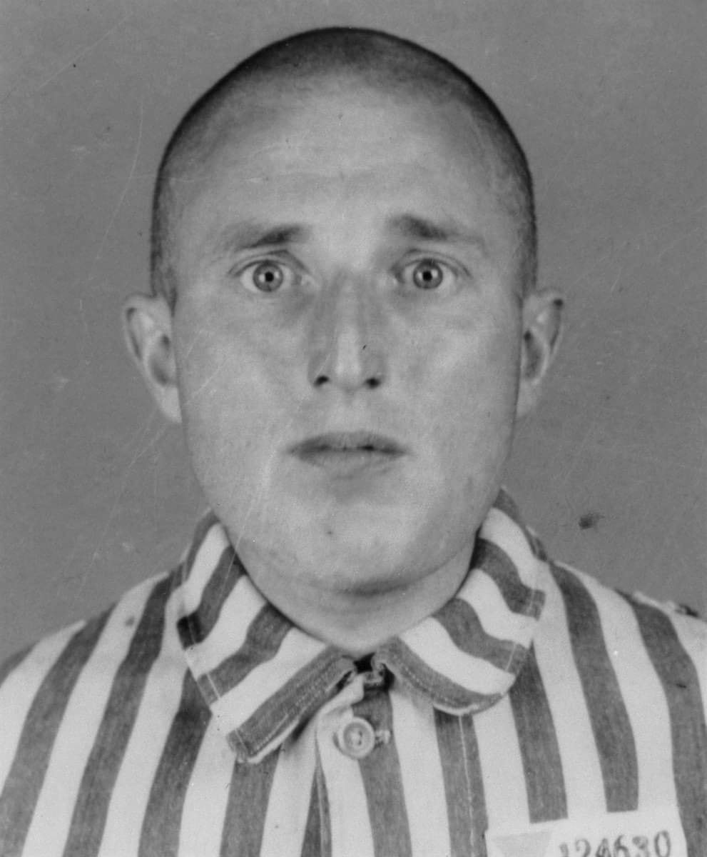 This is Karl Gorath. When he was 26, his jealous lover denounced him to the police as a gay man